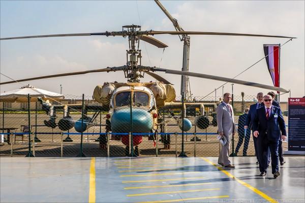 Первая египетская выставка вооружений EDEX-2018