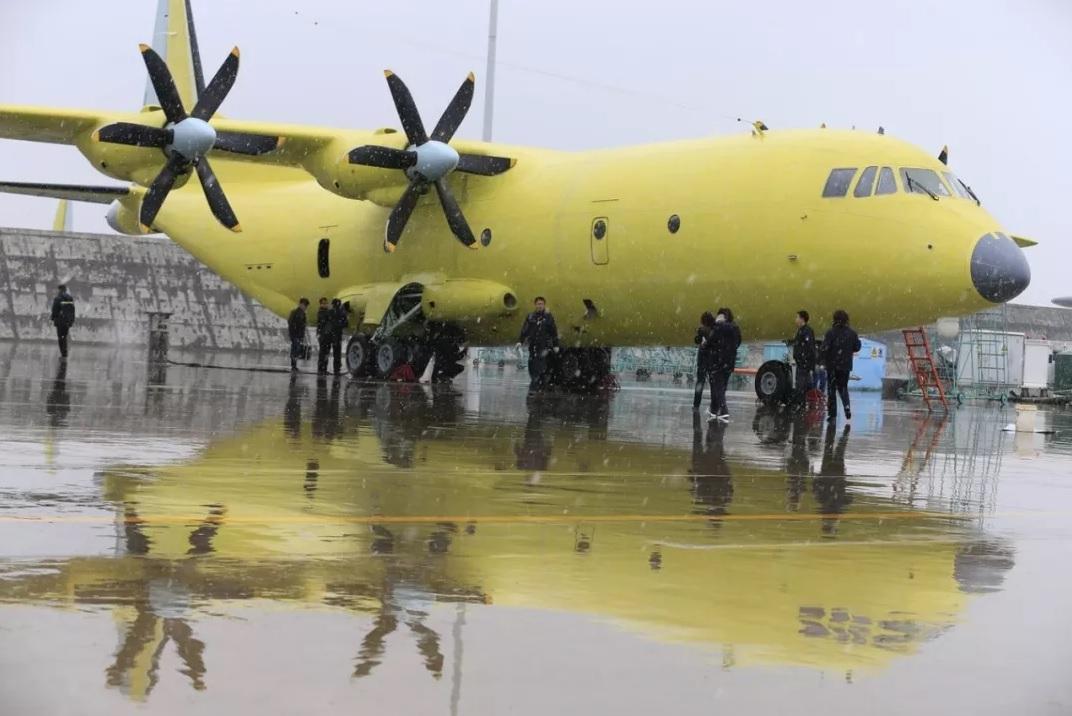 Китайский авиастроительный конвейер