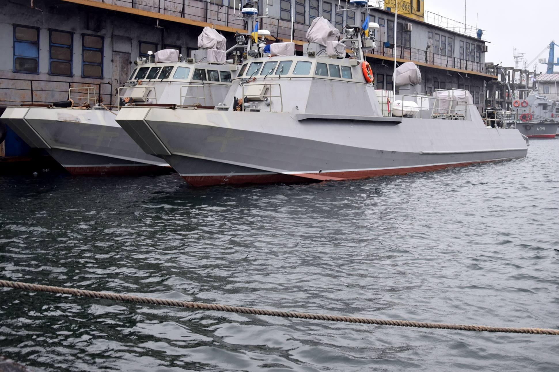 В Киеве для ВМС Украины будут построены еще четыре катера