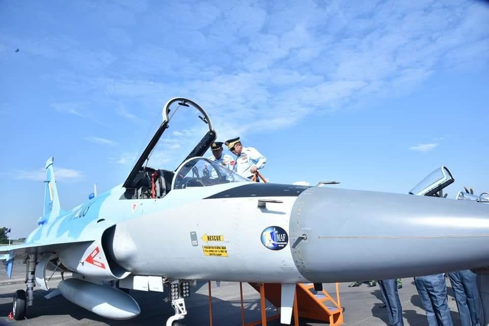 Ввод первых истребителей JF-17М в состав ВВС Мьянмы