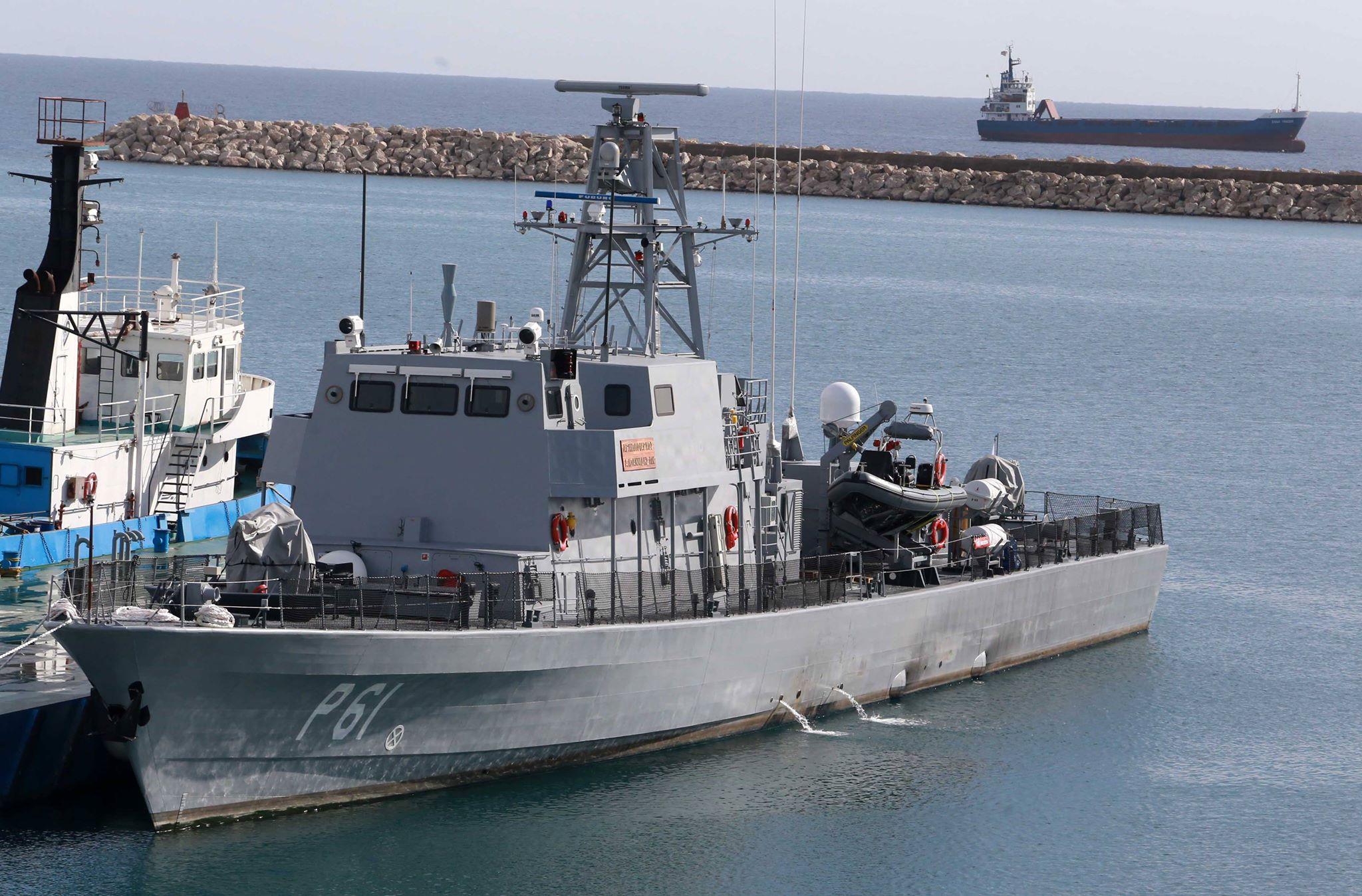 Кипр заказал в Израиле второй патрульный корабль