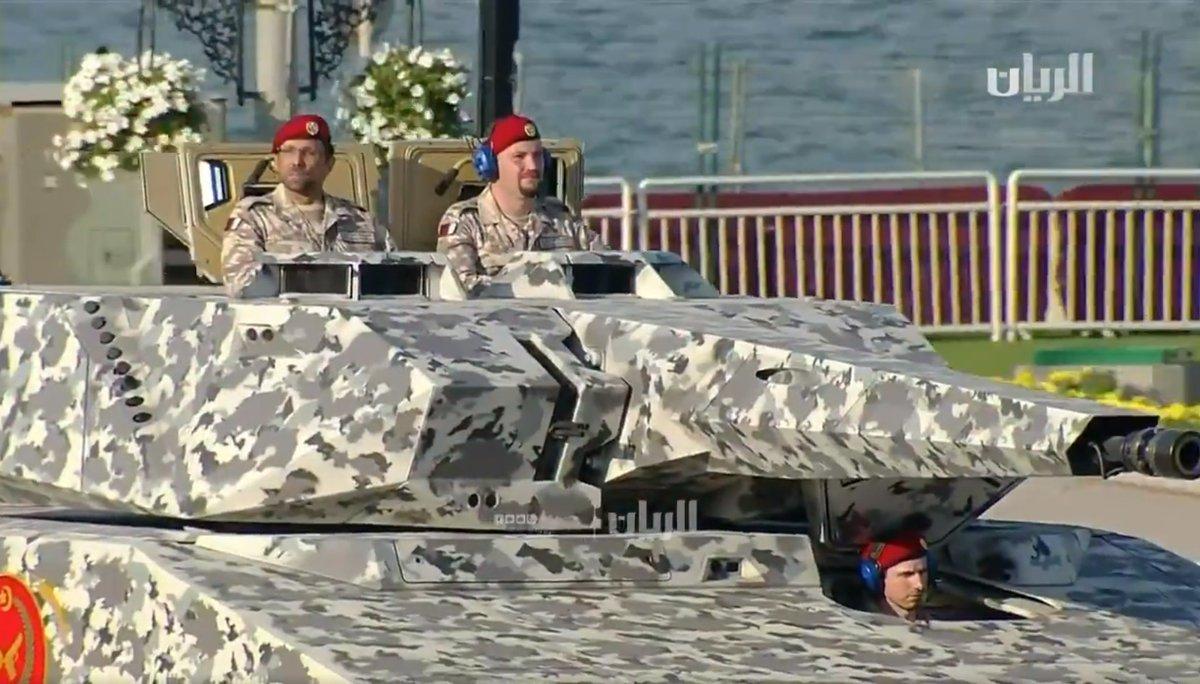 Военный парад в Катаре