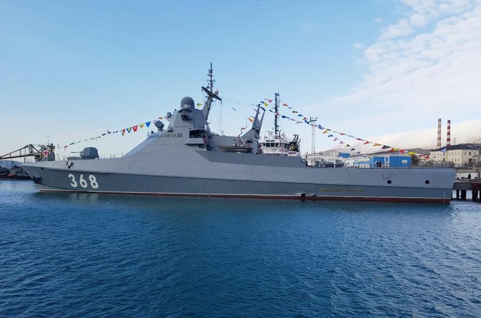 Головной патрульный корабль «Василий Быков» проекта 22160 вошел в состав ВМФ России