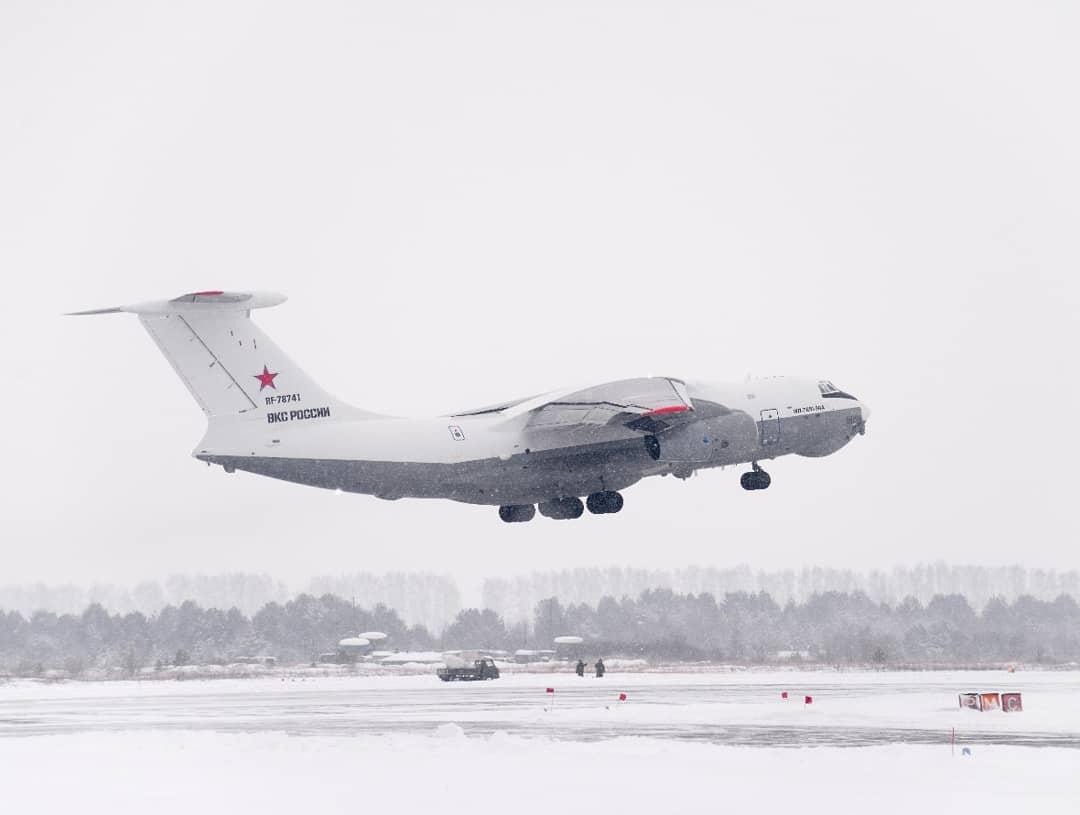 Первый опытный образец самолета-заправщика Ил-78М-90А приступил к заводским летным испытаниям