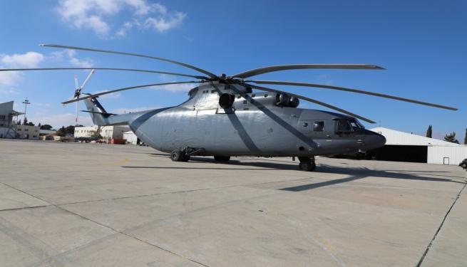 Иордания получила второй вертолет Ми-26Т2