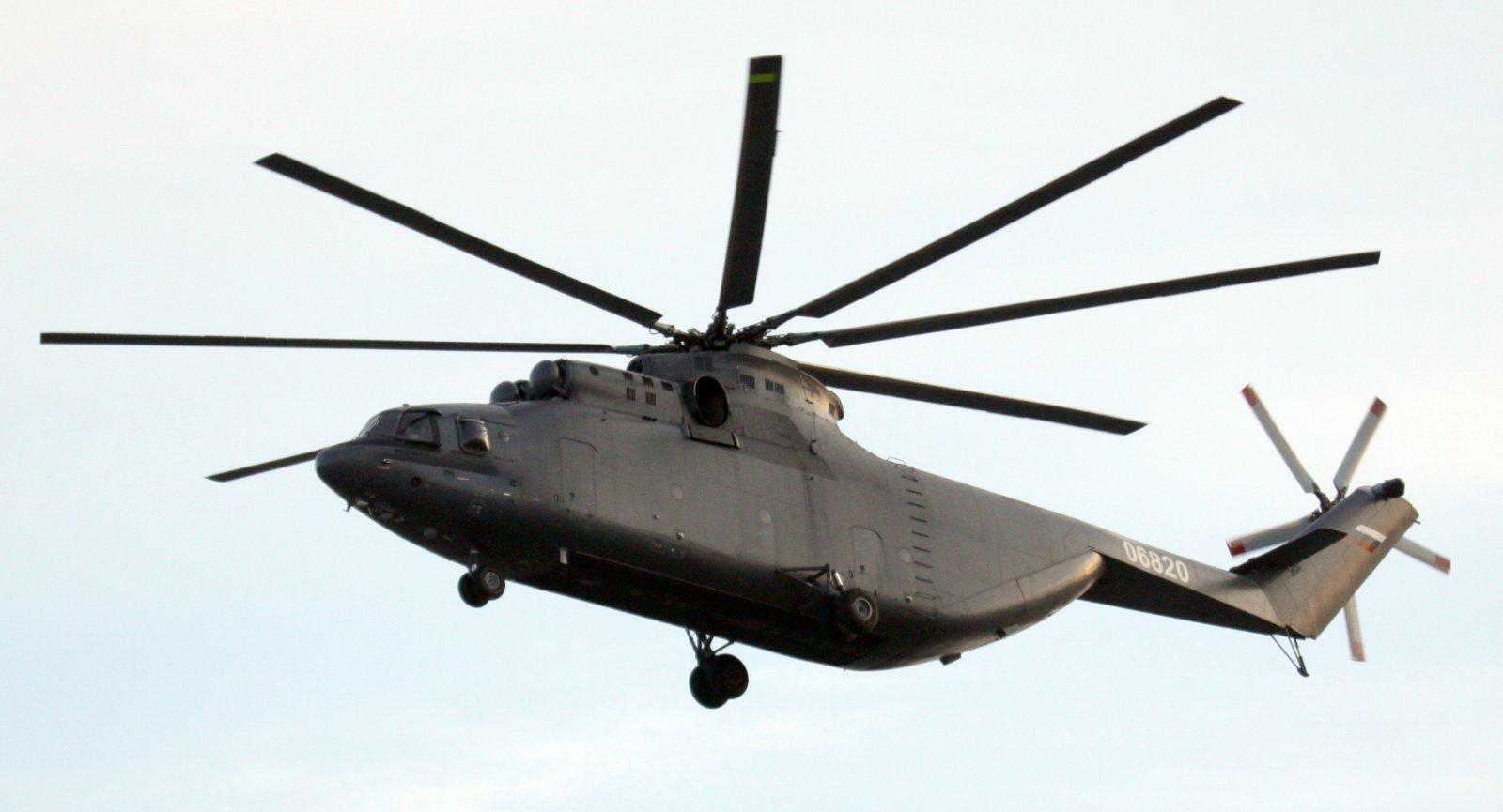 Иордания получила второй вертолет Ми-26Т2 Ми26Т2, Иордании, номер, регистрационный, вертолет, Второй, вертолета, вертолетов, 06820, транспортный, тяжелый, первый, окраску, темносерую, АмманМарка, серийный, Роствертоле, построенный, полет, контракту