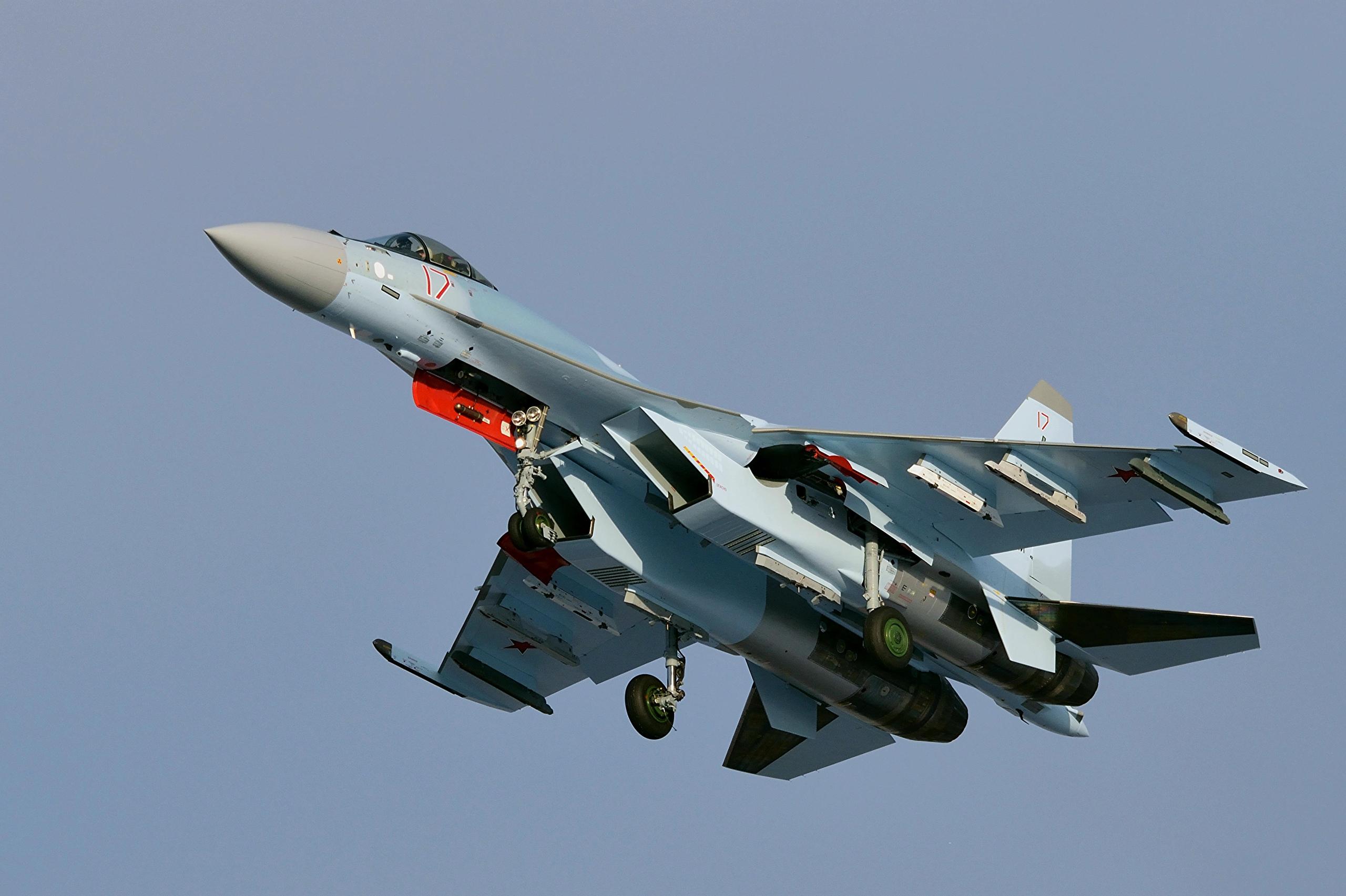 Новые Су-35С ВКС России