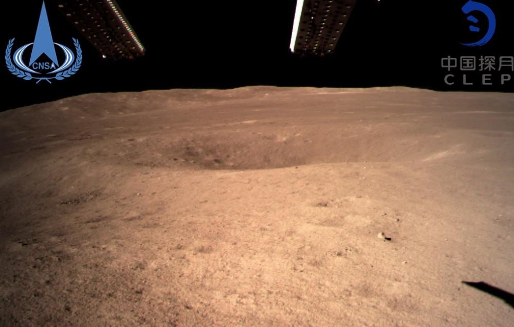 """Китайский космический аппарат """"Чанъэ-4"""" совершил успешную посадку на обратной стороне Луны"""