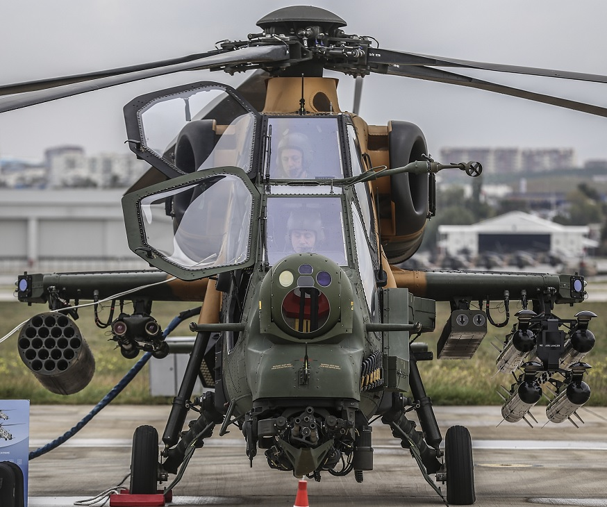 Катар подписал соглашение о намерениях приобрести турецкие боевые вертолеты Т129 АТАК