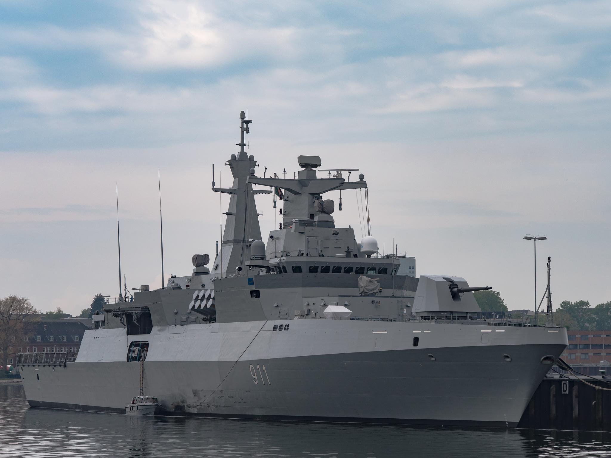 Утвержден контракт на постройку в Германии для Египта фрегатов проекта МЕКО А200