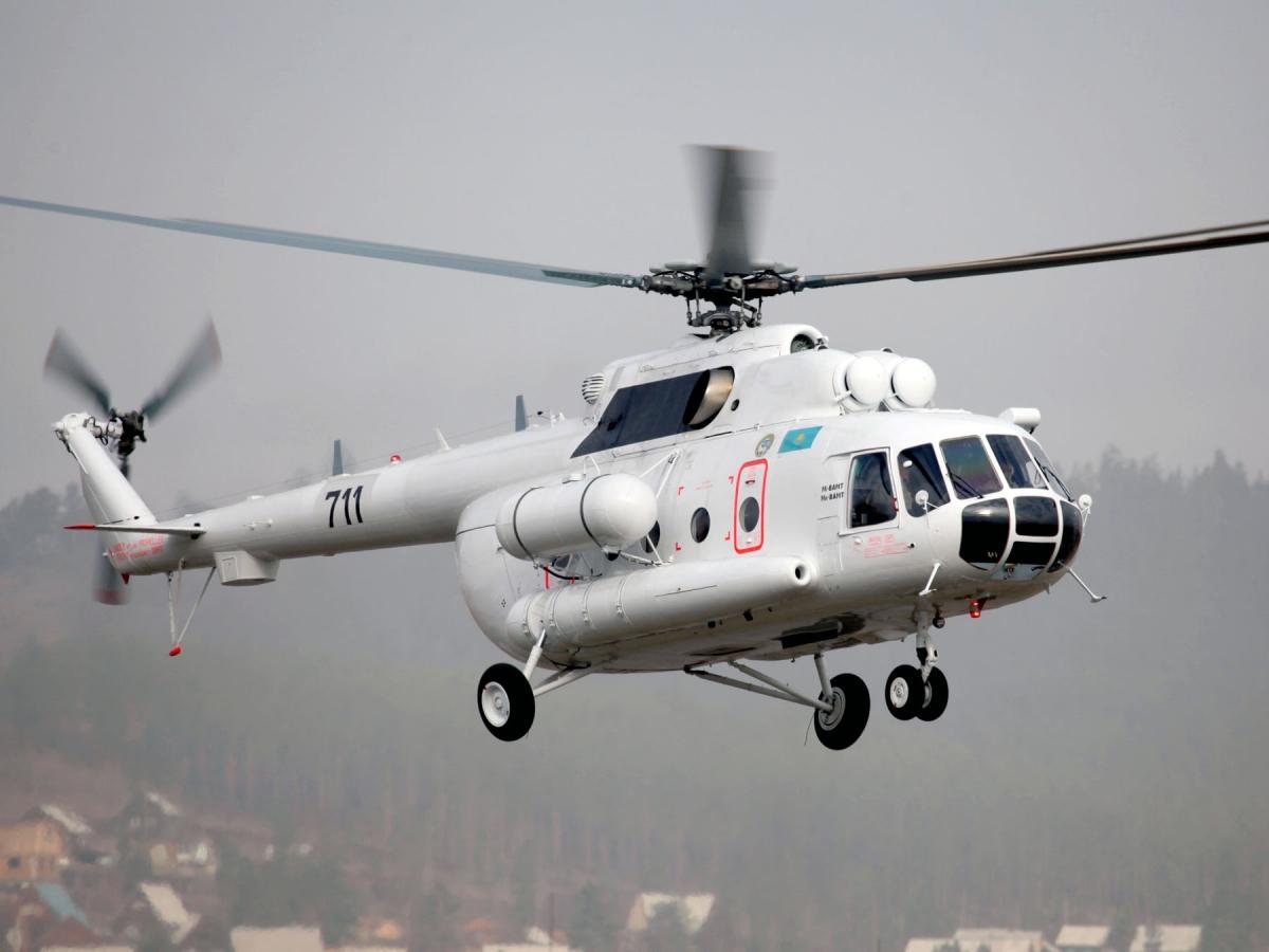 Контракт на организацию в Казахстане крупно-узловой сборки вертолетов Ми-8АМТ/Ми-171