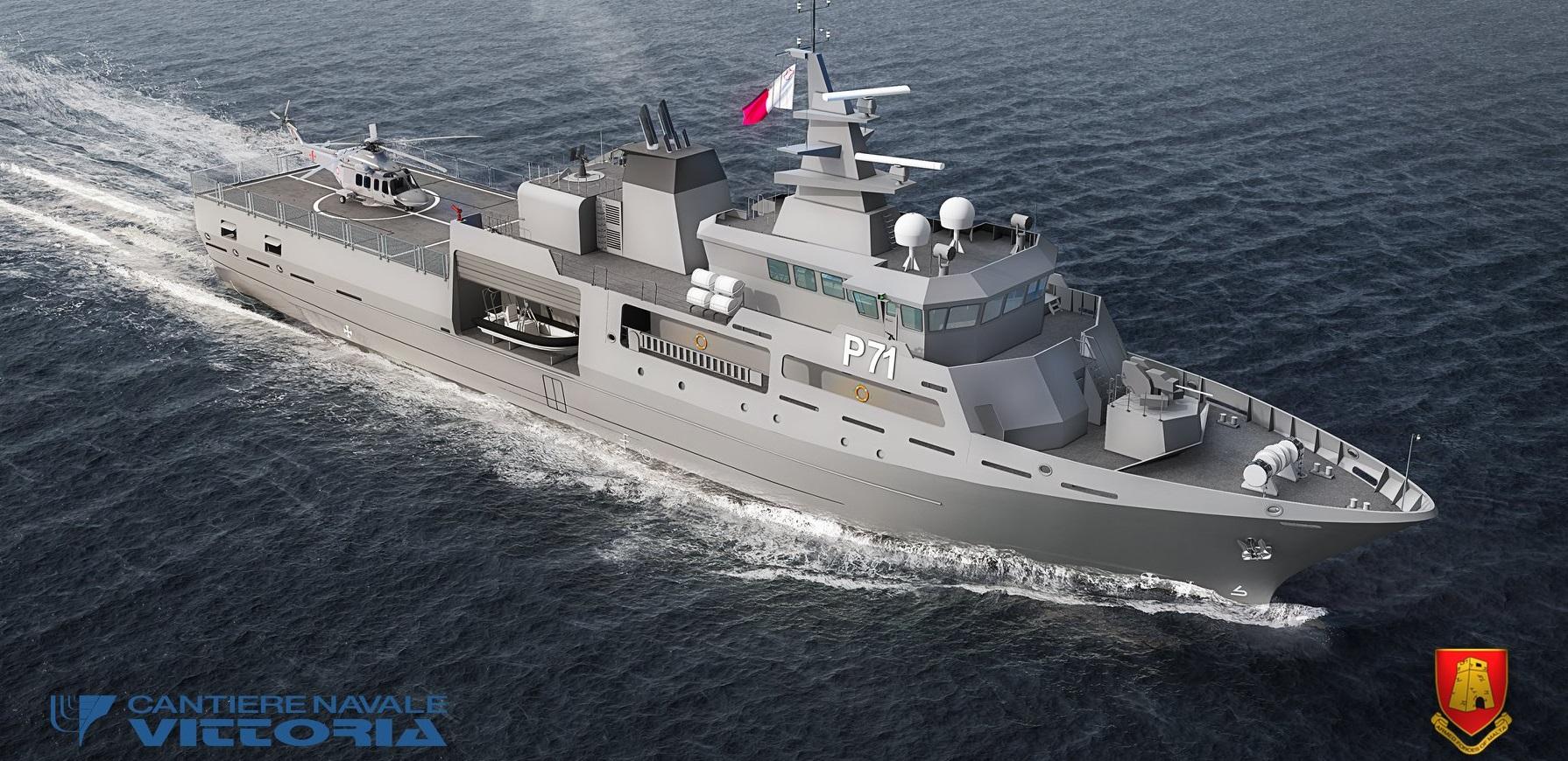 Мальта заказала патрульный корабль в Италии