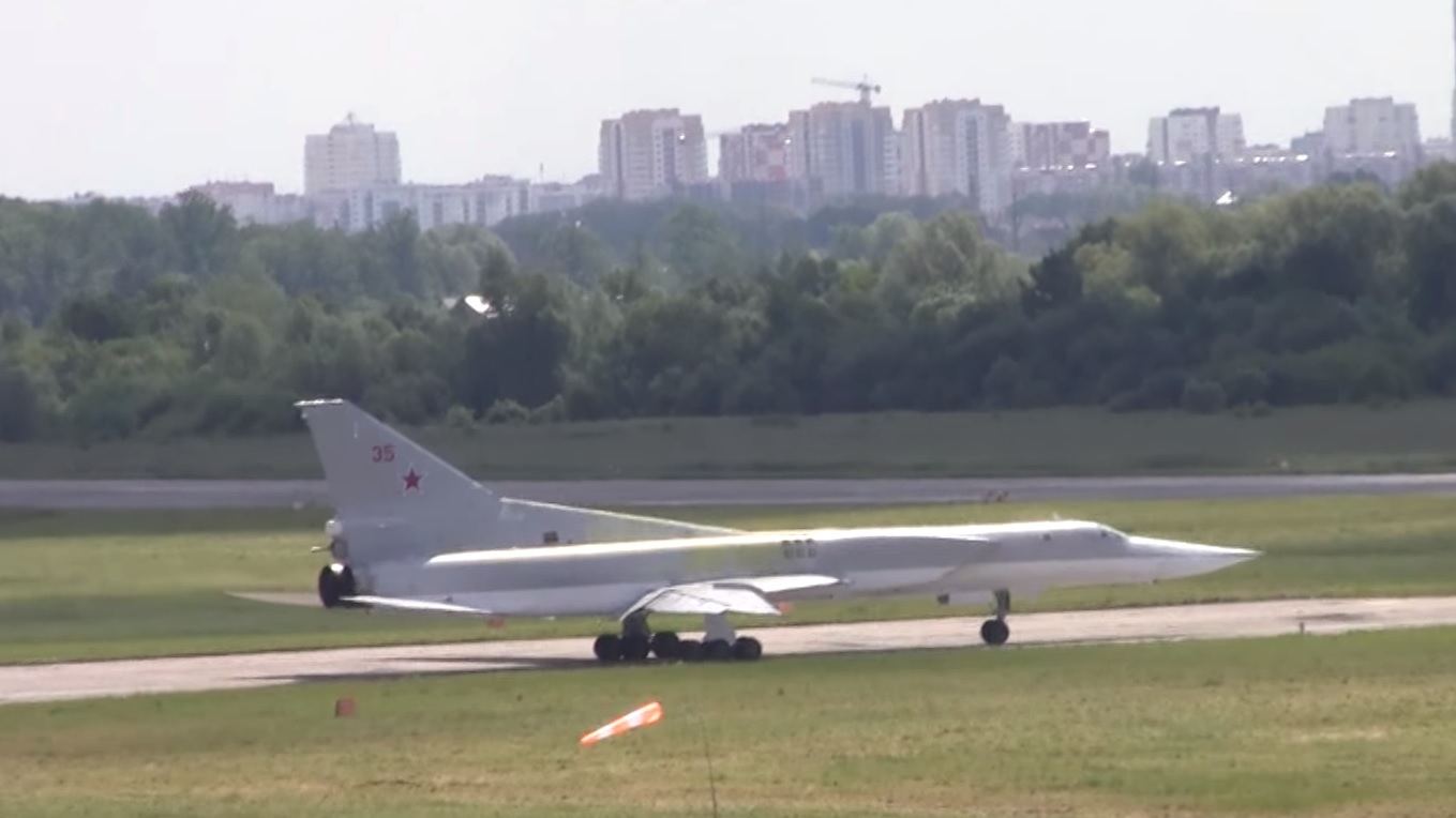 В Оленегорске разбился дальний бомбардировщик Ту-22М3