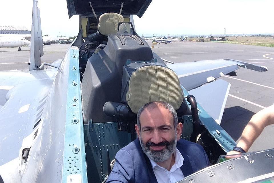 Заключен контракт на поставку Армении истребителей Су-30СМ