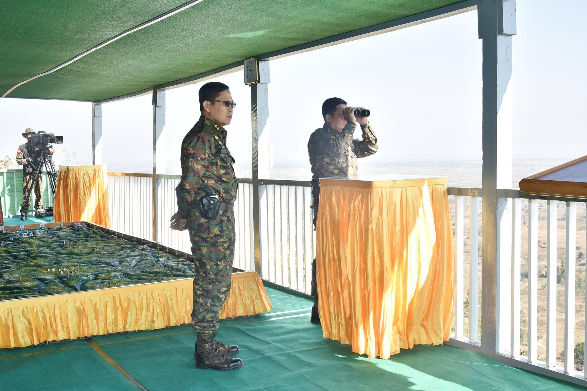 Крупномасштабные учения вооруженных сил Мьянмы