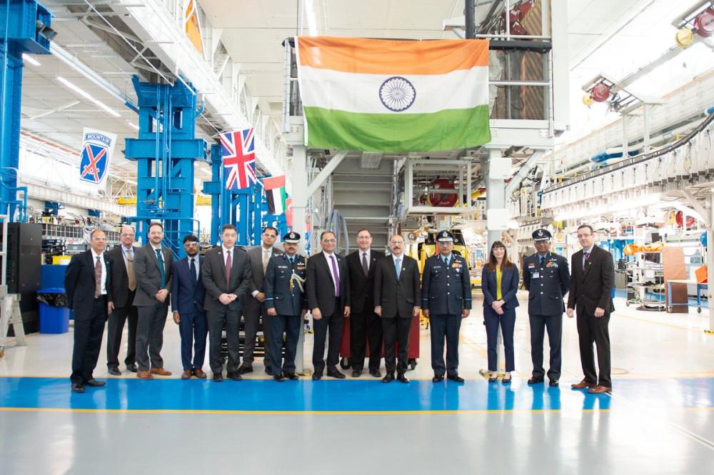 Индия получила первый вертолет CH-47F(I) Chinook Индии, Boeing, CH47FI, вертолета, построенного, номер, вертолетов, первого, Chinook, индийский, военный, АН64Е, линии, ZL4674, транспортного, посольство, передачиВВС, Церемония, 01022019, обороны