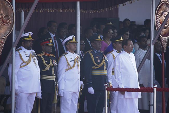 Военный парад в Шри-Ланке