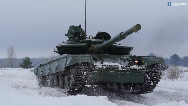 Украинский модернизированный танк Т-64Б образца 2017 года