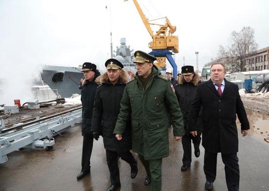 Фрегат «Адмирал флота Касатонов» проекта 22350 будет передан ВМФ России в 2019 году