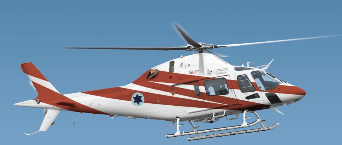 ВВС Израиля приобретают семь учебно-тренировочных вертолетов AW119 Koala