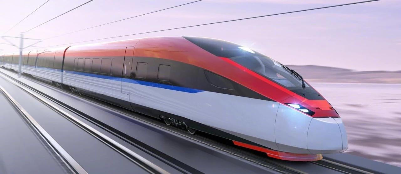 Концепт китайского высокоскоростного поезда для России