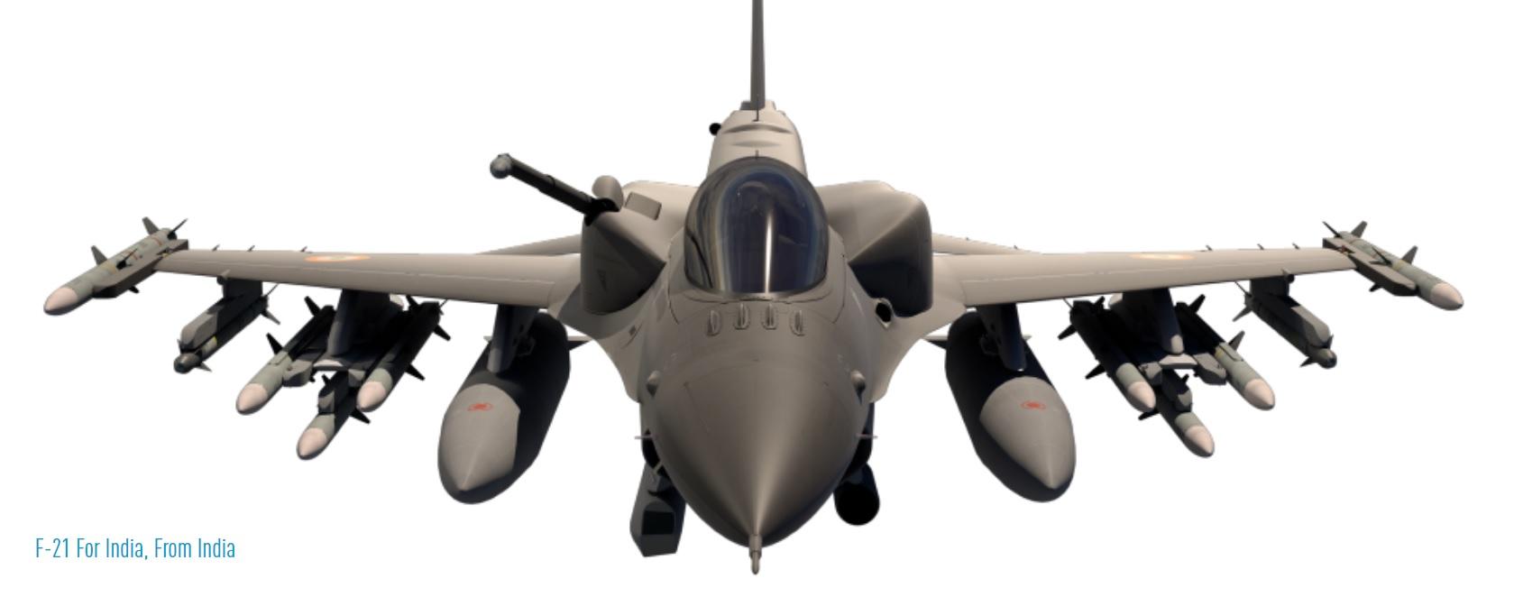 Lockheed Martin переименовала истребитель F-16 для Индии в F-21