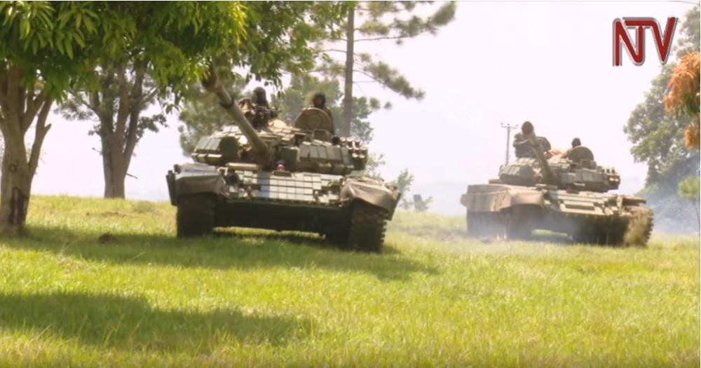 Угандийские танкистки
