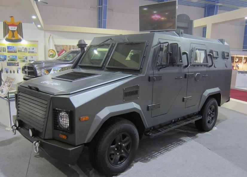 Иракская бронированная машина Hajjam 1