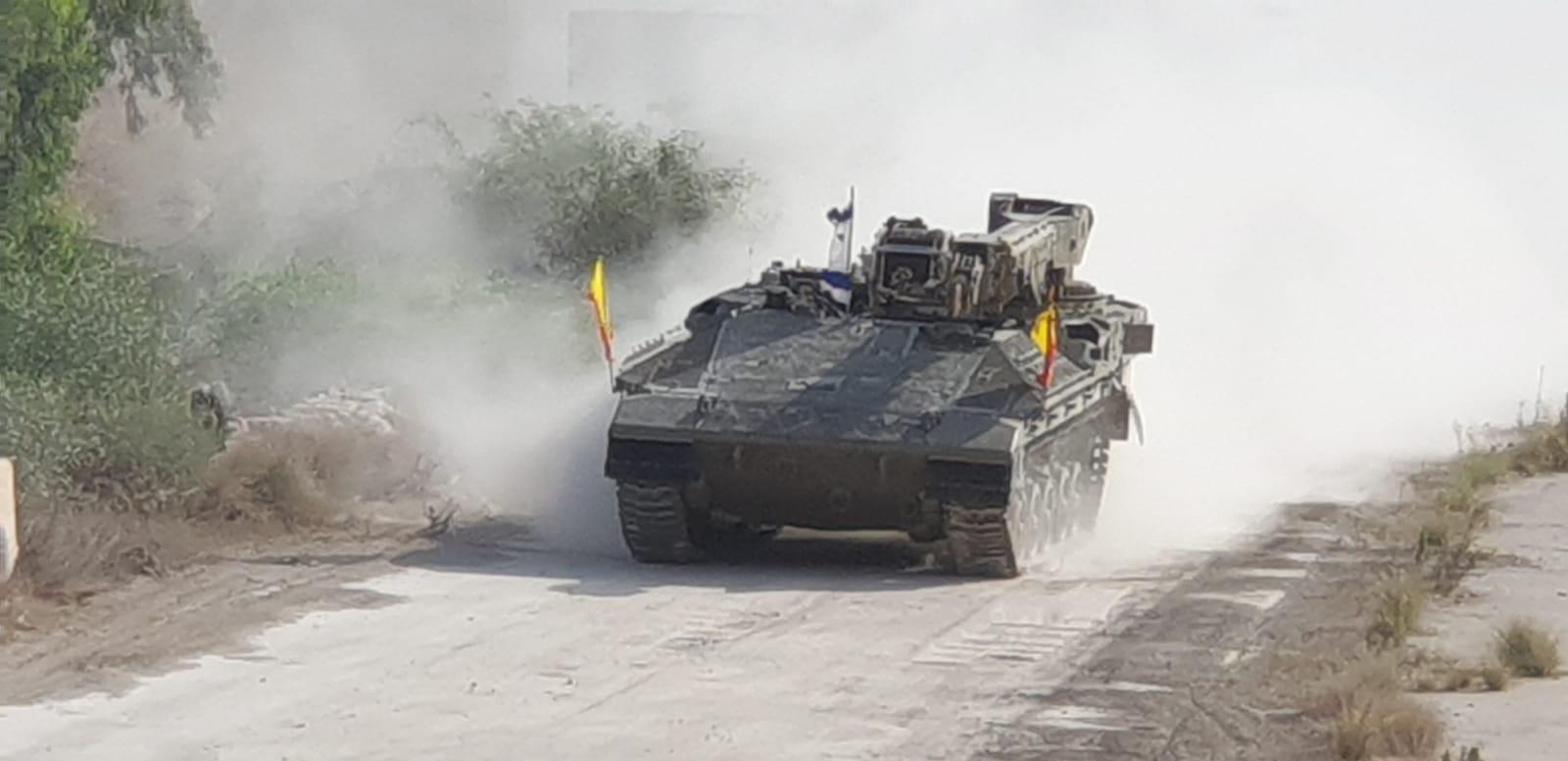 Новые израильские бронированные ремонтные эвакуационные машины на базе «Намер»