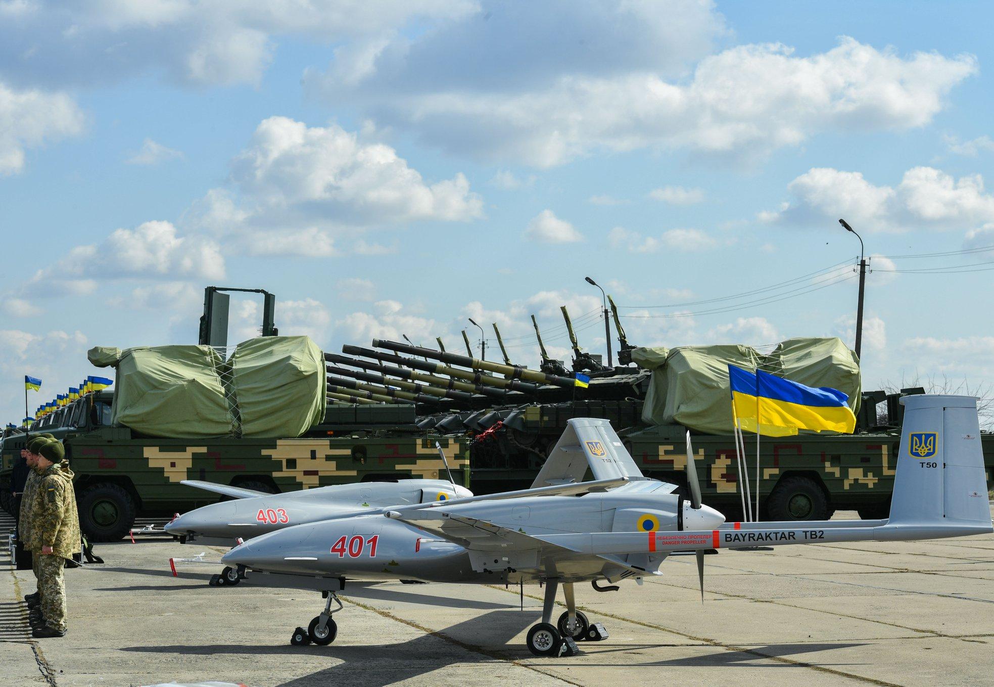 وفد أوكراني يبحث شراء طائرات بدون طيار تركية الصنع 6664695_original