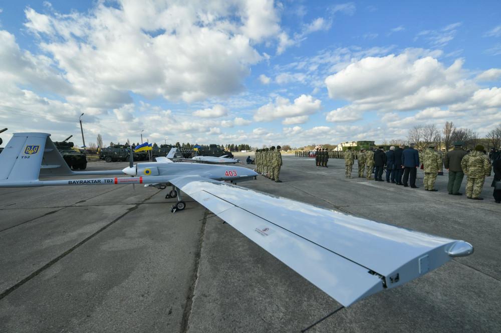 وفد أوكراني يبحث شراء طائرات بدون طيار تركية الصنع 6665146_1000