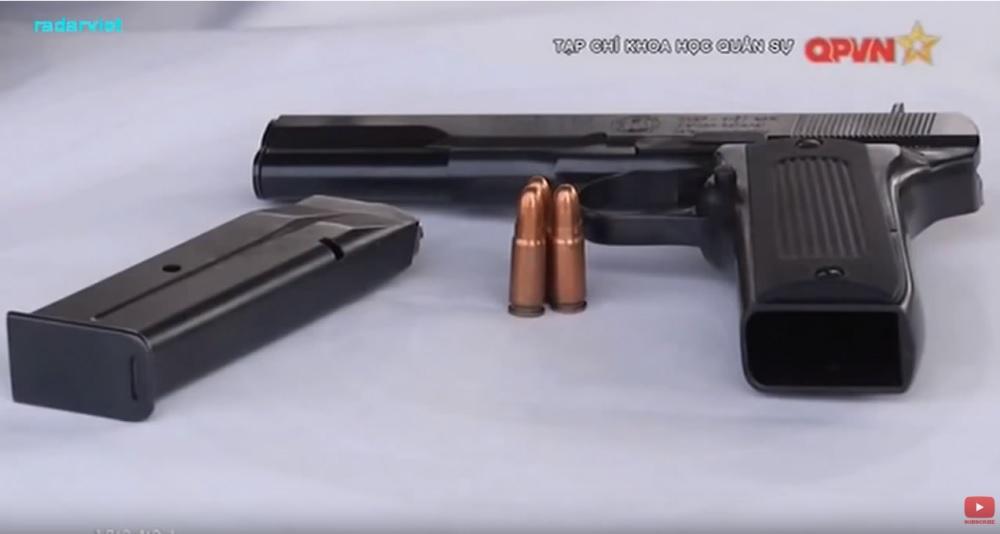 Производство пистолетов ТТ на оружейном заводе Z111 во Вьетнаме