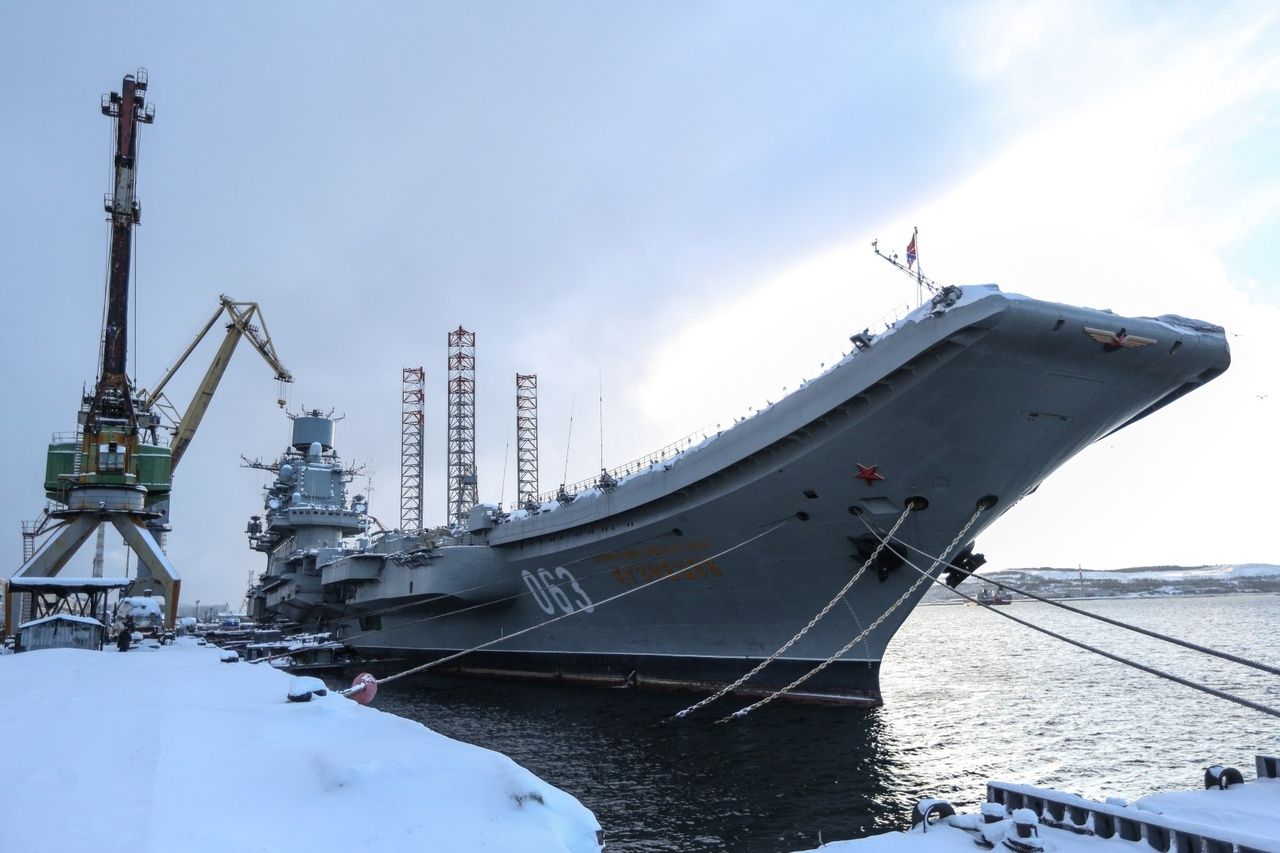 35-й СРЗ в Мурманске будет модернизирован для ремонта «Адмирала Кузнецова»