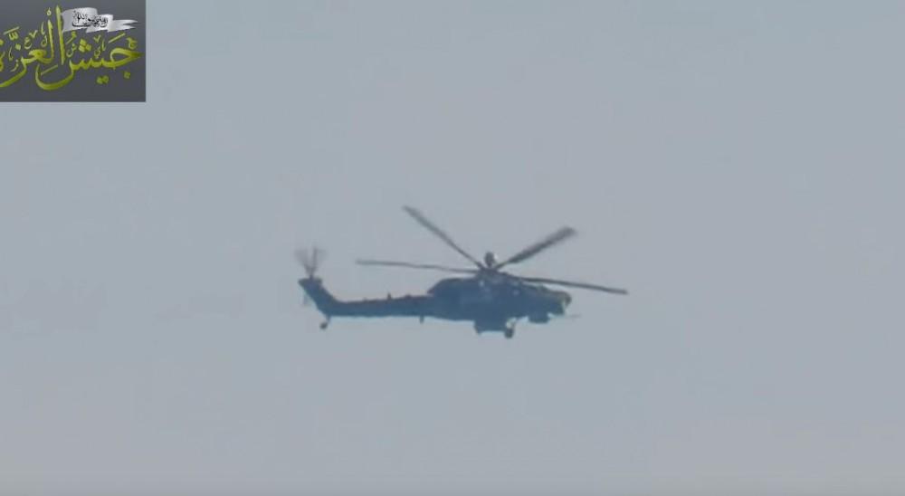 Вертолет Ми-28НМ в Сирии