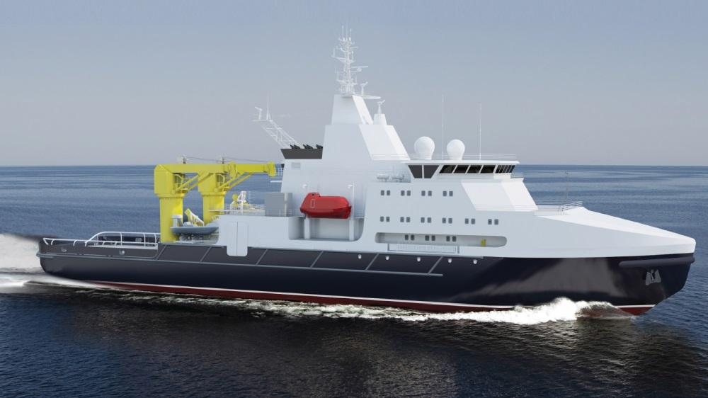 Планы строительства для ВМФ России новых спасательных буксирных судов океанской зоны