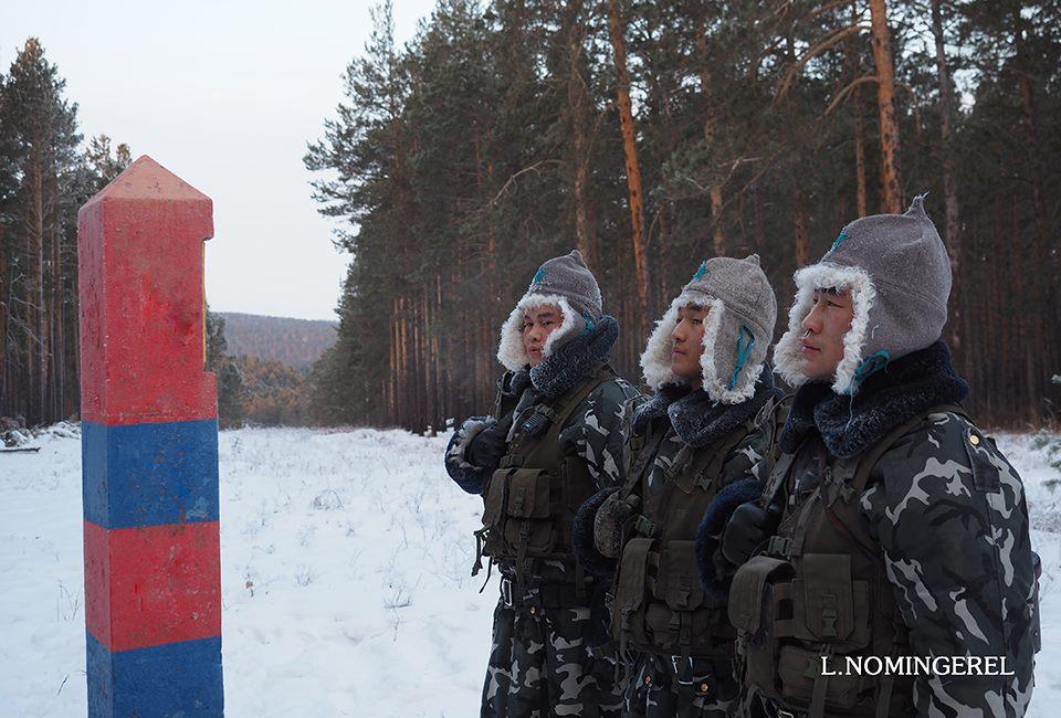 Повседневная служба монгольских пограничников на границе с Россией