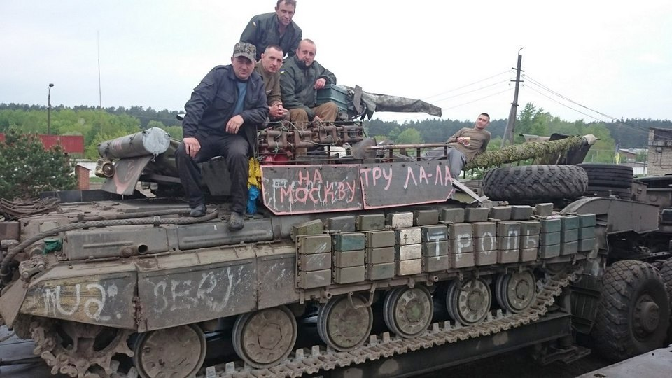 Восстановление на Украине танков с хранения