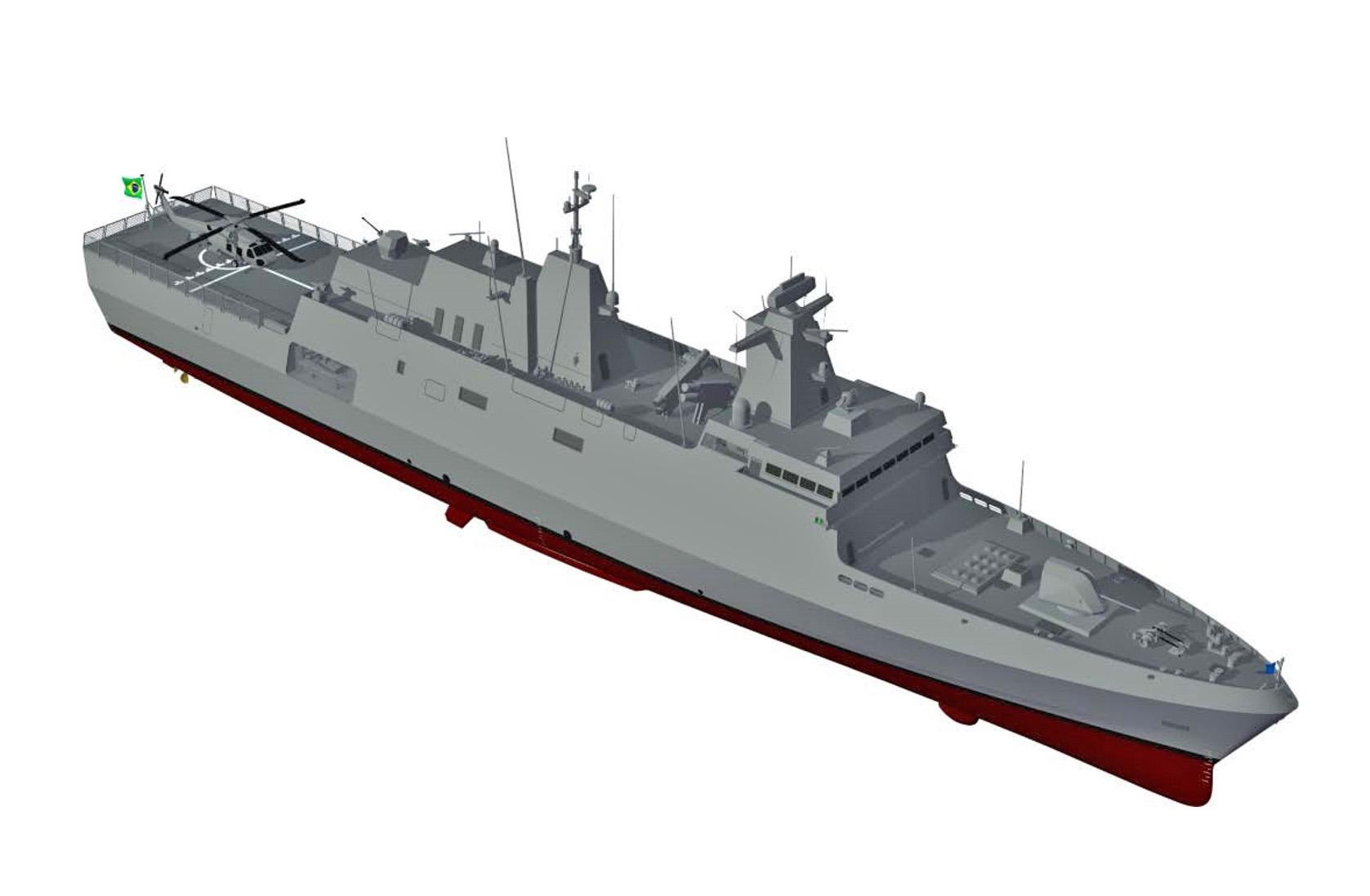 Германский проект МЕКО А100 победил в тендере на корвет для ВМС Бразилии
