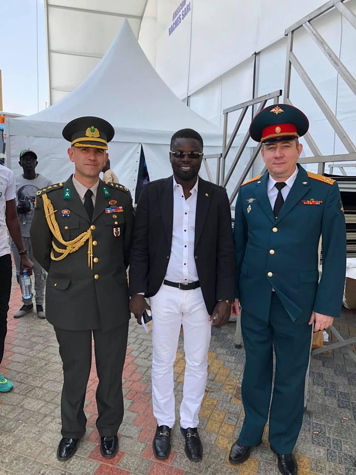 Военный парад в Сенегале