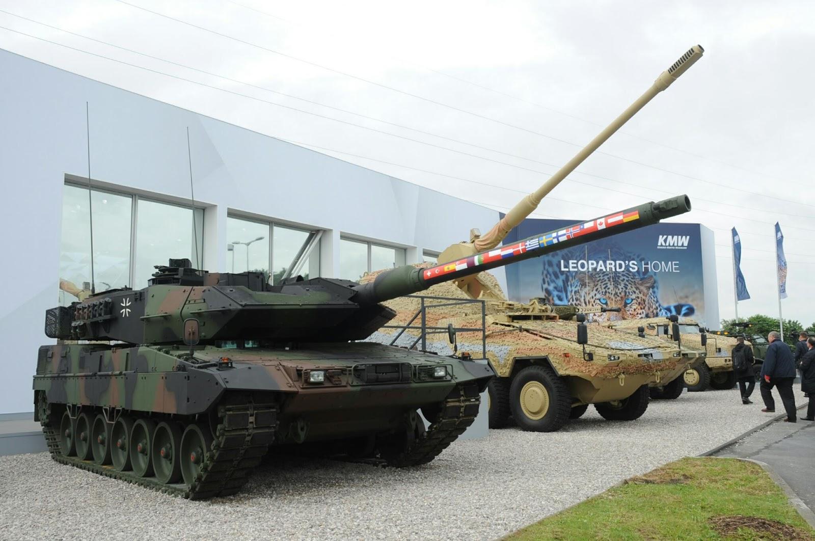 Leopard-2A7V-Tank