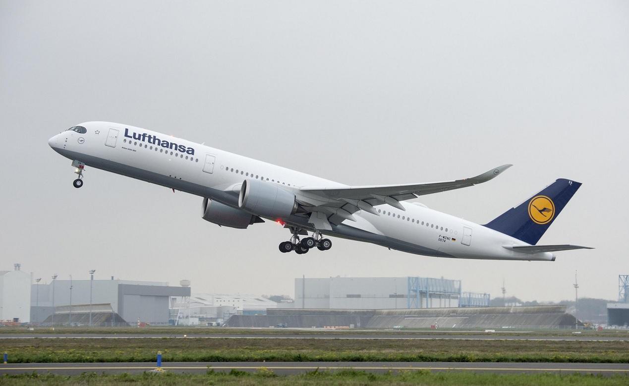 Германия приобретает три самолета Airbus A350-900 для правительственных перевозок