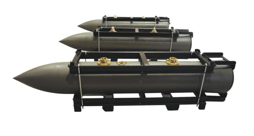 Бразильская проникающая авиационная бомба AEQ BPEN 2000
