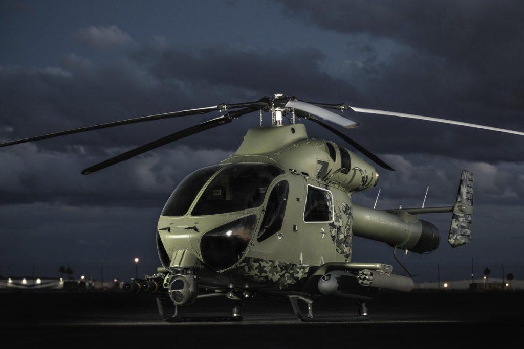 Новый легкий боевой вертолет MD Helicopters MD 969