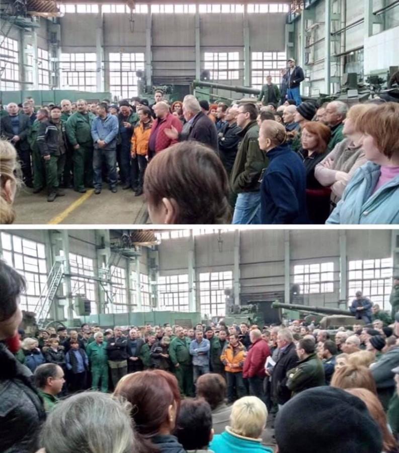 Скандал на ХКБМ им. А.А. Морозова: забастовка из-за невыплаты зарплаты и злоупотреблений руководства