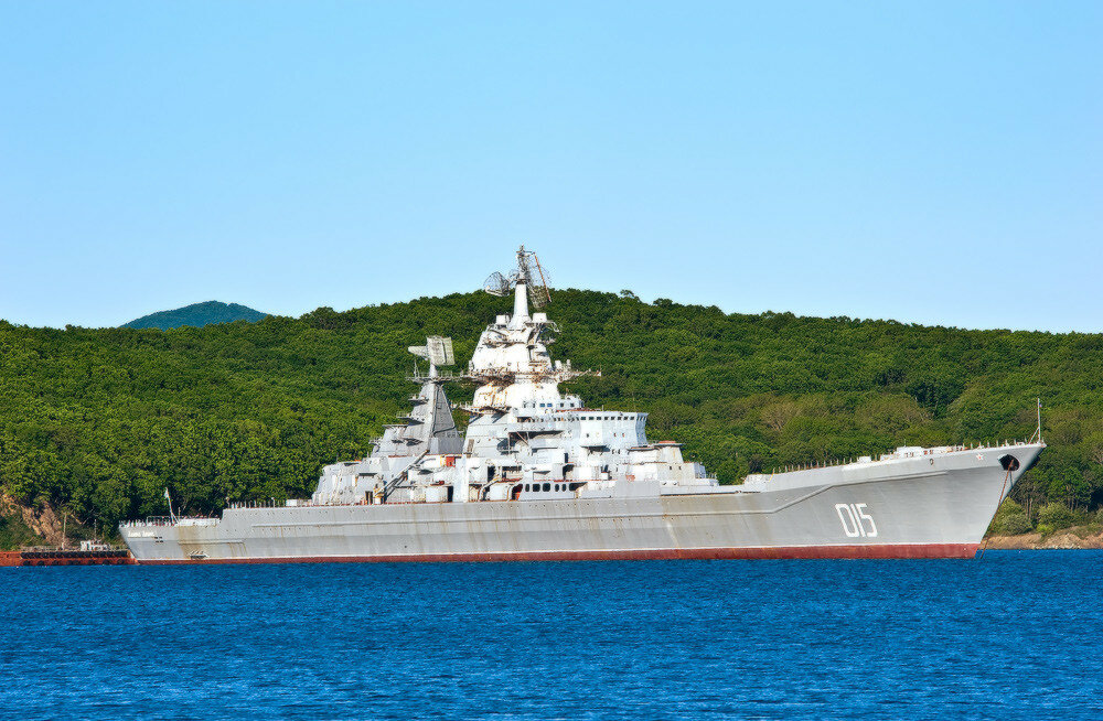 """Тяжелые атомные ракетные крейсера """"Адмирал Ушаков"""" и """"Адмирал Лазарев"""" будут утилизированы в 2021 г."""