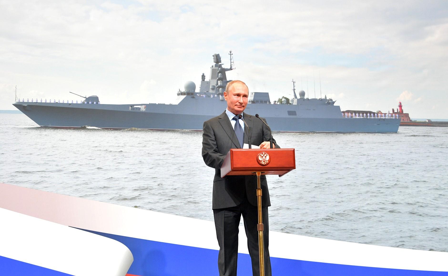 Заложены фрегаты «Адмирал Амелько» и «Адмирал Чичагов» проекта 22350