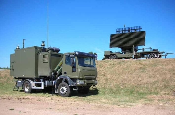 ВВС Великобритании приобретают испанскую радиолокационную станцию