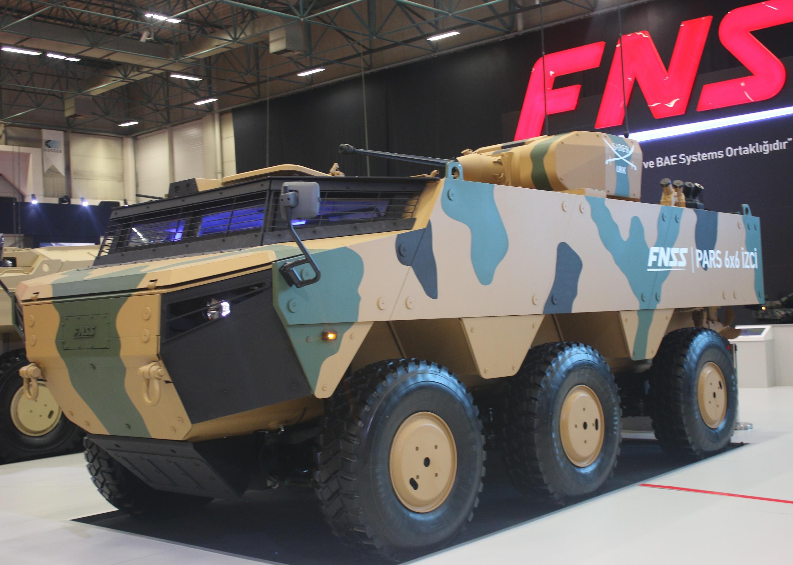Вооруженные силы Турции приобретают 100 бронированных машин PARS в разведывательном варианте