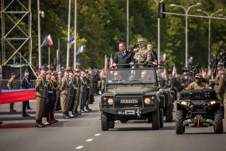 Военный парад в Польше