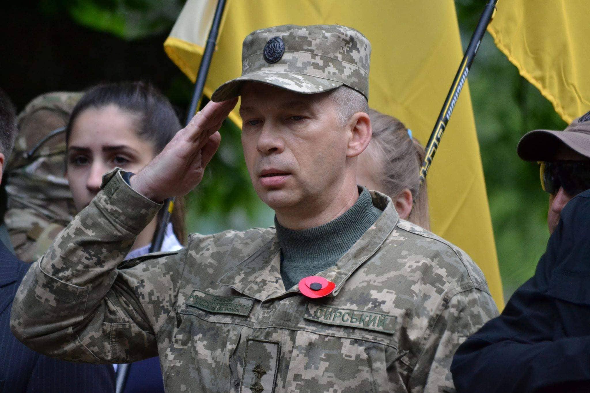 Новый командующий украинскими войсками в зоне конфликта
